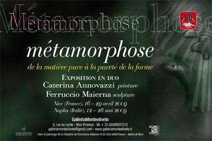 Galleria monteoliveto m tamorphose nice 16 29 avril - Chambre de commerce franco italienne ...